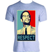 Camisa Camiseta Blusa Malcolm X Respect Lsd Swag 4:20 Top