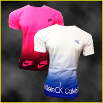 Kit Com 20 Camisetas Masculinas Marcas Váriadas Estampas