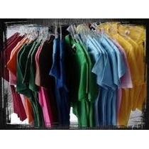 Camiseta Em Cores 100%algodão Lisa Fio 30,1 Cores