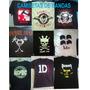 Camiseta Acdc, Metallica, Linkin Park, Avenged, Pear Jam,