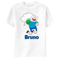 Camiseta Hora De Aventura Finn - Personalizada