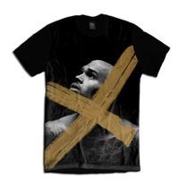 Camiseta Personalizada Swag Face Rosto Chris Brown
