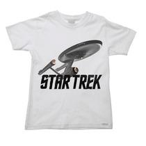 Camiseta Infantil Star Trek Jornada Nas Estrelas E - 2 Ao 16