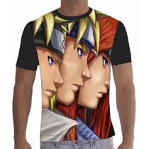 Camisa Camiseta Anime Naruto 006
