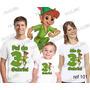 Lembrança De Aniversario Peter Pan Camiseta Kit Com 3