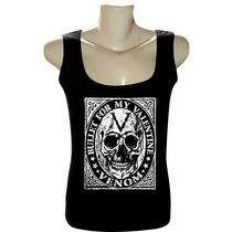 Camiseta Regata Fem Rock Bandas Bullet For My Valentine