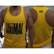 Combo 6x Camisetas Regatas Nadador Animal Musculação Tank.