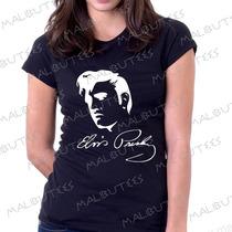 Baby Look Camiseta Elvis Presley Personalizado Blusa