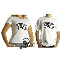 Camiseta,baby Look,regata Masculina, Feminina Olho De Horus