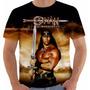 Camiseta Conan Bárbaro Barbarian Arnold Schwarzenegger Color