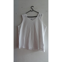 Camiseta Regata Feminina Basic Editions - Tamanho Gg
