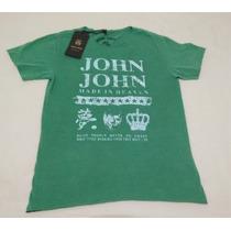 Camiseta John John Original Manga Curta Lancamento
