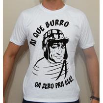 Camiseta Masculina Chaves , Da Zero Pra Ele!