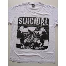 Camiseta Suicidal - Friends & Family - Profanus