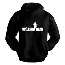 Blusa Moletom The Walking Dead Série Canguru Com Capuz