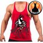 Camiseta Camisa Regata Cavada Malhar Academia Musculação