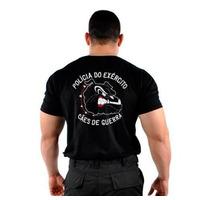 076m12 - Camiseta Bordada Cães De Guerra - Loja Original