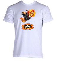 Camiseta Adulto Unissex Motoqueiro Fantasma Ghost Rider 09