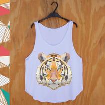 Blusa Regata | Regatão Feminino Tigre