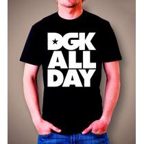 Camiseta Dgk - 100% Algodão - Personalizada