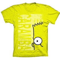 Camiseta Camisa Bart Simpson Engraçada Os Simpsons Preço