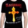 Camiseta De Rock Racionais Sobrevivendo No Inferno