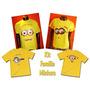 Kit Familia Camisetas Personalizadas Minions