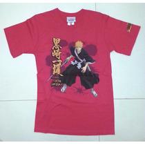 Tk0 Camiseta T-shirt Bleach Ichigo Splatter Importada