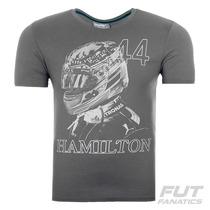 Camiseta Puma Mercedes Amg Gp Graphic Hamilton -futfanatics