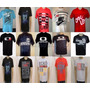 Kit C/10 Camisetas De Marca