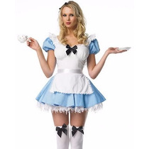 Fantasia Adulta Princesa Alice No País Das Maravilhas Disney