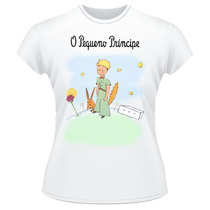 Baby Look O Pequeno Príncipe Raposa Camiseta Feminina #2