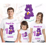 Lembrança De Aniversario Ursinhos Carinhosos Camiseta Kit