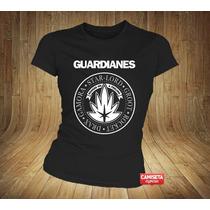 Camiseta Feminina Guardiões Da Galáxia Ramones Cine Groot