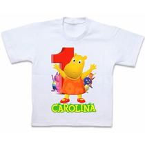 Roupas Blusa Camiseta Personalizada Backyardigans Tasha