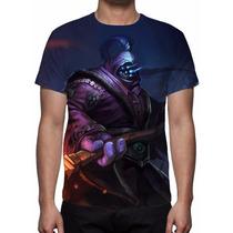 Camisa, Camiseta Game League Of Legends Jax O Grão-mestre