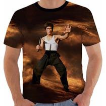Camiseta Bruce Lee 6 - Dragao - Dragon - Artes Marciais