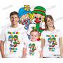 Lembrança De Aniversario Patati E Patata Camiseta Kit Com 3
