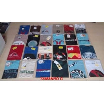 Kit Com 10 Camiseta Quiksilver, Element,billa Bong, Rip Curl