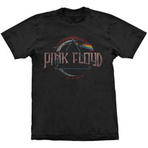 Camiseta Pink Floyd Dark Side Vintage Stamp