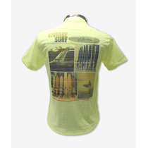 Camisas Gola V Em Poliéster E Algodão