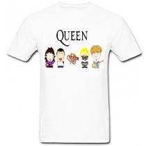 Camiseta Queen South Park Camisa Masculina Unissex Banda Fre