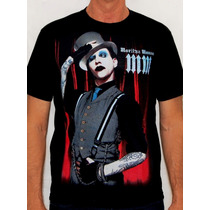 Camiseta Marilyn Manson - Top Hat