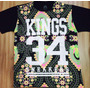 Imperdivel Camiseta Kings 34 Sneakers Floral Importada