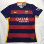 Camisa Nike Barcelona Home 2015 Nº11 Neymar - Pronta Entrega