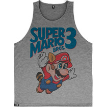 Regata Super Mario Camiseta Blusa Moletom Video Game Herois