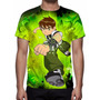 Camisa, Camiseta Anime Ben 10 - Estampa Total