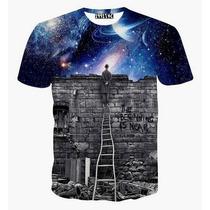 Camisetas Psicodélica 3d Frete Grátis Para Todo Brasil