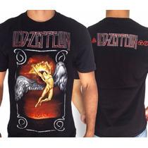Camiseta Especial- Led Zeppelin- Icaro - Tam G