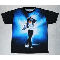 Camiseta/camisa Estampada - Michael Jackson